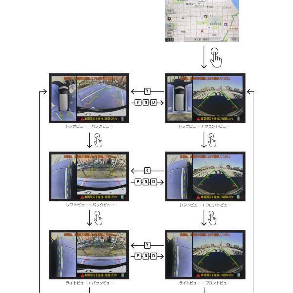 【カナック企画/Kanack】Kanatechs(カナテクス)ヴェルファイア エアロタイプ専用 H30/1〜現在 サテライトビューカメラ(取付工賃込み)SV-Y008|onetop-onlineshop|02