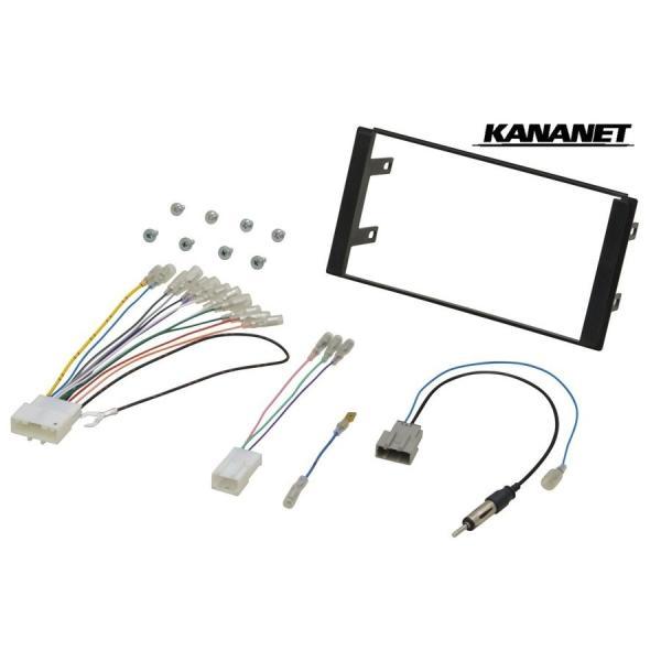 【KANANET カナネット】UA-N59D 日産車汎用 カーAV取付キット onetop-onlineshop