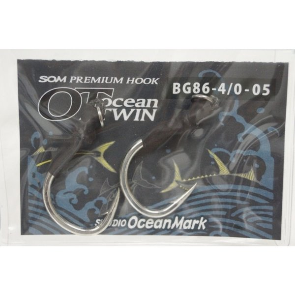 スタジオオーシャンマーク OceanTWIN オーシャンツイン プレミアム フック BG86-4/0-05