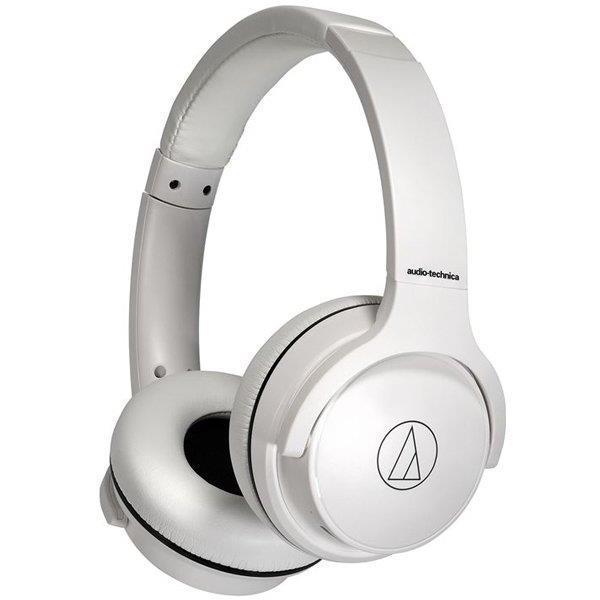 オーディオテクニカ ワイヤレスヘッドホン ATH-S220BT WH ホワイト