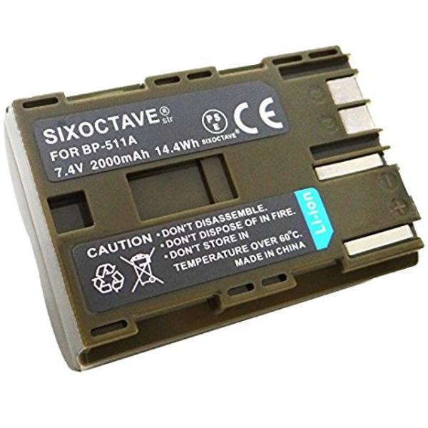 str Canon キヤノン BP-511 / BP-512 / BP-511A / BP-514 互換バッテリー イオス EOS 5D / EOS 50D / EOS 10D / EOS 20D / EOS 20Da / EOS D30 / EOS 30...