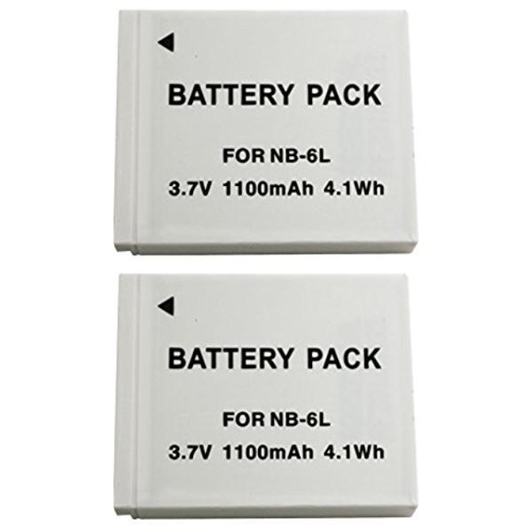 NinoLite NB-6L NB-6LH 互換 バッテリー 2個セット キャノン IXY 32S 930IS PowerShot SX700HS 等対応 nb6lx2_t.k.gai