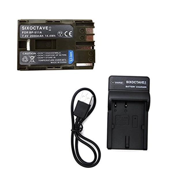 str キヤノン BP-512/BP-514/BP-511A 対応互換バッテリーと充電器USBチャージャーCB-5L CG-580 CG-570 セット イオス EOS 5D / EOS 50D / EOS 10D / EOS...