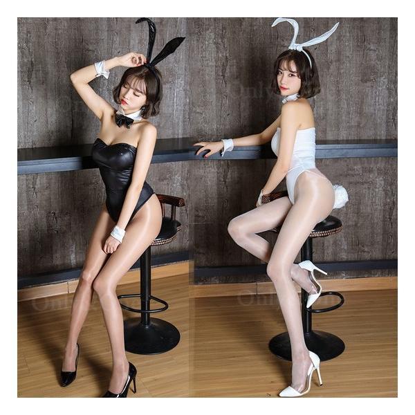バニーガール セクシーバニー コスプレ アニマル コスチューム SEXY&COOL (全2色)(ban)|only-and-one|03
