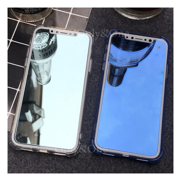 iPhone X iPhone10 液晶保護フィルム 鏡面 ミラー ガラスフィルム 保護シール 画面フィルム(全5色)(ipn)(shs)|only-and-one|02