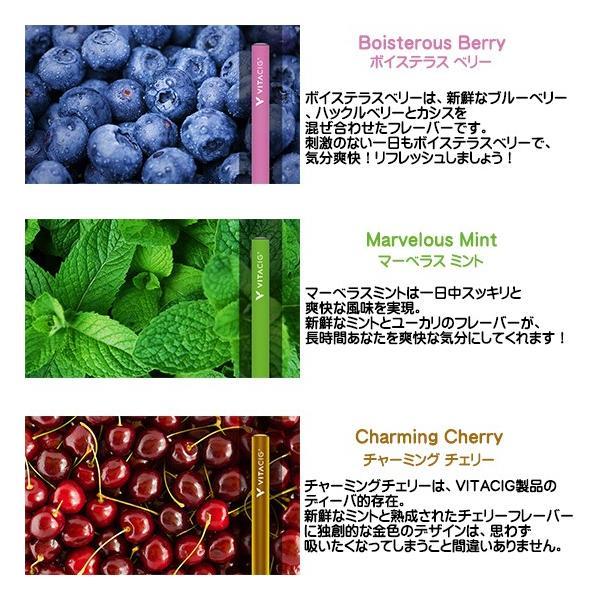 電子タバコ VITACIG JAPAN 正規品 ビタシグ フレーバー 正規代理店|only-and-one|02