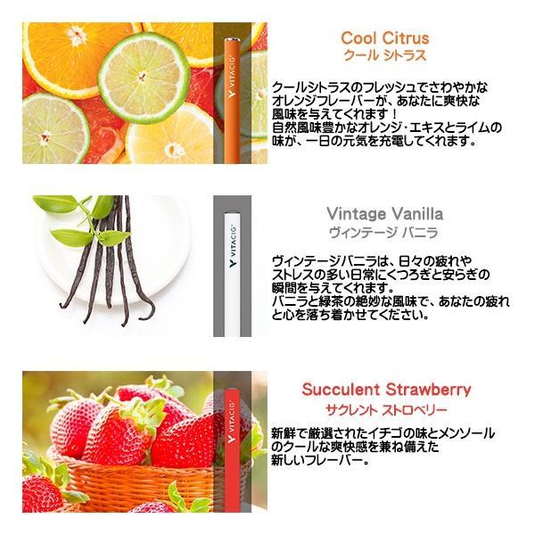 電子タバコ VITACIG JAPAN 正規品 ビタシグ フレーバー 正規代理店|only-and-one|03