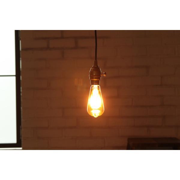 【フィラメントLED電球「Siphon」エジソン LDF30A】E26 クリア ガラス レトロ アンティーク  インダストリアル ブルックリン お洒落 照明 間接 ランプ|only1-led|05