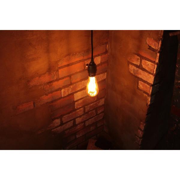 【フィラメントLED電球「Siphon」エジソン LDF30A】E26 クリア ガラス レトロ アンティーク  インダストリアル ブルックリン お洒落 照明 間接 ランプ|only1-led|07