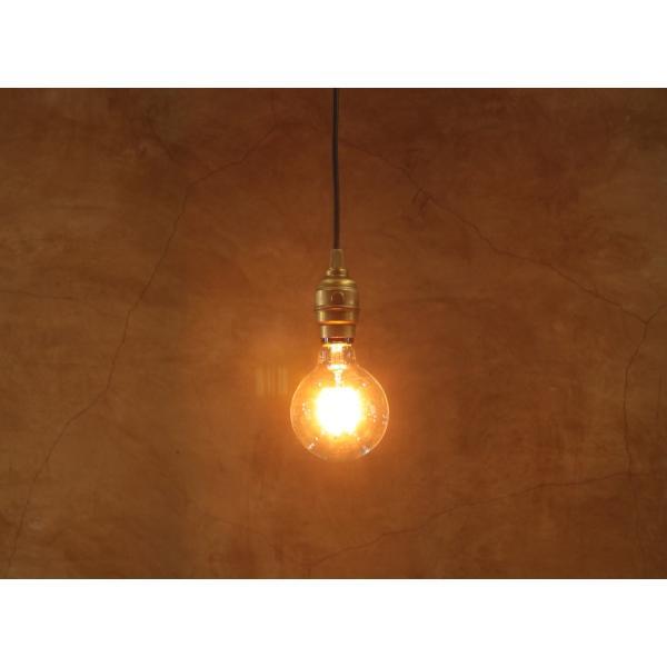 【フィラメントLED電球「Siphon」ボール95 LDF31A】E26 暖系電球色 クリア ガラス レトロ アンティーク インダストリアル ブルックリン 照明 間接 ランプ|only1-led|06