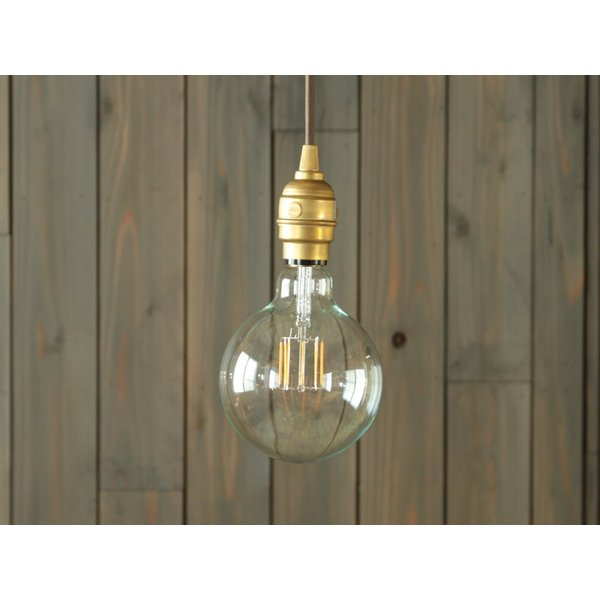 【フィラメントLED電球「Siphon」ボール125 LDF32A】E26 暖系電球色 ガラス レトロ アンティーク インダストリアル ブルックリン お洒落 照明 間接 ランプ only1-led 04