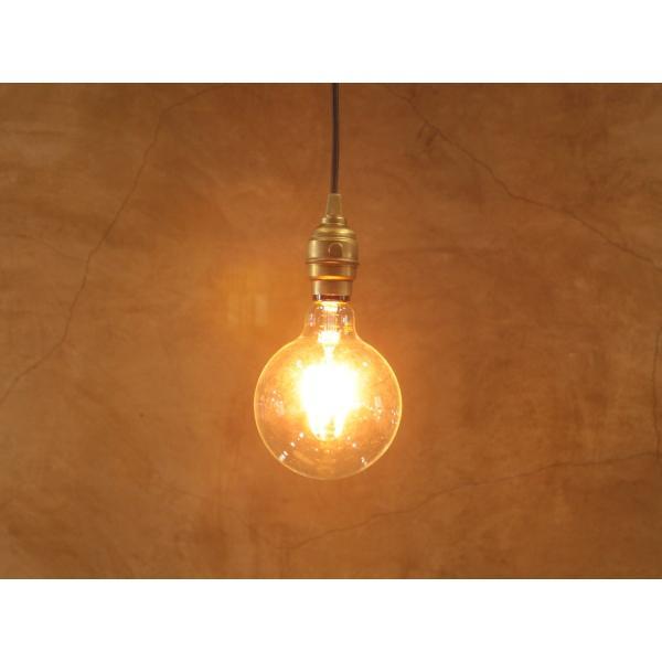 【フィラメントLED電球「Siphon」ボール125 LDF32A】E26 暖系電球色 ガラス レトロ アンティーク インダストリアル ブルックリン お洒落 照明 間接 ランプ only1-led 05