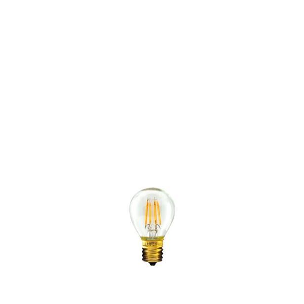 【フィラメントLED電球「Siphon」ボール35 LDF33】E17 暖系電球色 クリア レトロ アンティーク インダストリアル ブルックリン お洒落 照明 間接照明 ランプ|only1-led|02