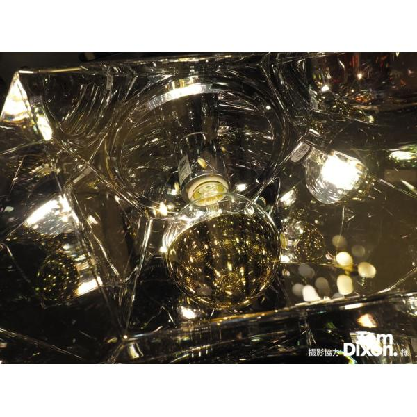 【フィラメントLED電球「Siphon」ボール95 LDF34】E26 Silver mirror 暖系電球色 Tミラー レトロ アンティーク インダストリアル ブルックリン  間接照明 ランプ|only1-led|05