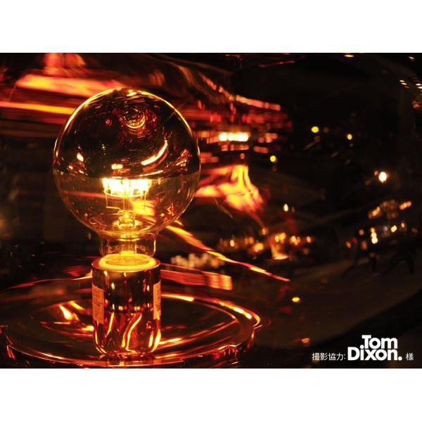 【フィラメントLED電球「Siphon」ボール95 LDF36】E26 Silver mirror 電球色 Tミラー レトロ アンティーク インダストリアル ブルックリン  間接照明 ランプ|only1-led|04