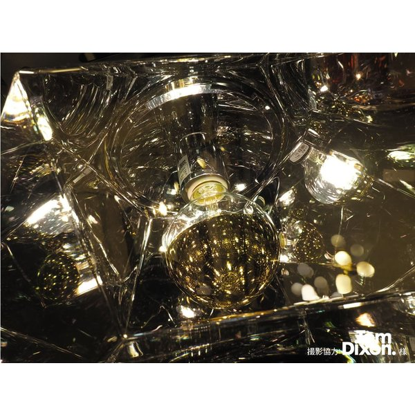 【フィラメントLED電球「Siphon」ボール95 LDF36】E26 Silver mirror 電球色 Tミラー レトロ アンティーク インダストリアル ブルックリン  間接照明 ランプ|only1-led|05