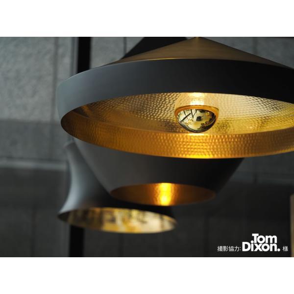 【フィラメントLED電球「Siphon」ボール95 LDF37】E26 Gold mirror 電球色 Tミラー レトロ アンティーク インダストリアル ブルックリン  間接照明 ランプ|only1-led|04