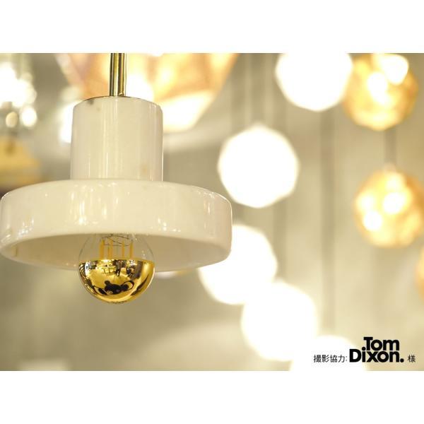 【フィラメントLED電球「Siphon」ザ・バルブ LDF39】E26 Gold mirror 暖系電球色 Tミラー レトロ アンティーク インダストリアル ブルックリン  間接照明 ランプ|only1-led|06
