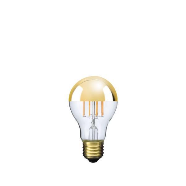 【フィラメントLED電球「Siphon」ザ・バルブ LDF41】E26 Gold mirror 電球色 Tミラー レトロ アンティーク インダストリアル ブルックリン  間接照明 ランプ|only1-led|02