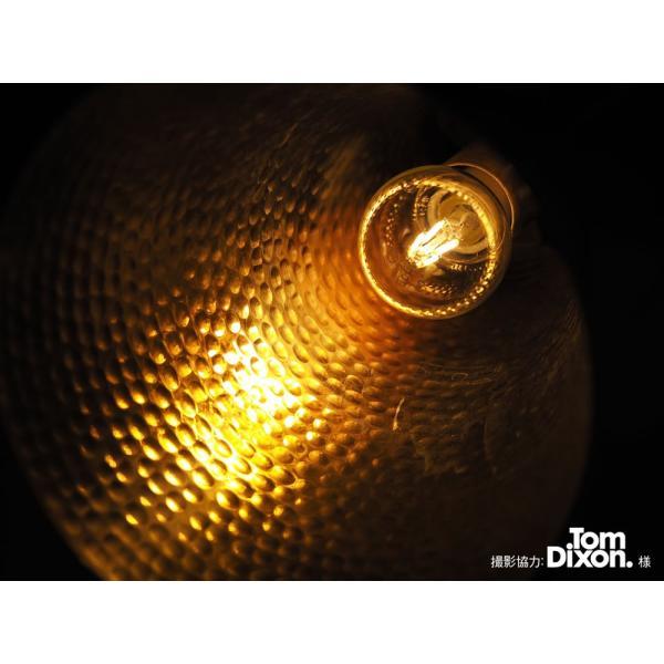 【フィラメントLED電球「Siphon」ボール50 LDF42】E17 暖系電球色 クリア レトロ アンティーク インダストリアル ブルックリン お洒落 照明 間接照明 ランプ|only1-led|03