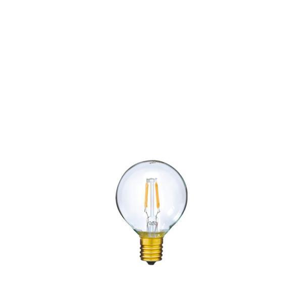 【フィラメントLED電球「Siphon」ボール50 LDF43】E17 電球色 クリア レトロ アンティーク インダストリアル ブルックリン お洒落 照明 間接照明 ランプ|only1-led|02
