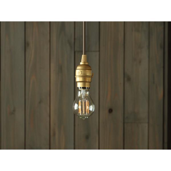 LED電球 E26 フィラメント LED クリア電球 40W相当 500lm 暖系電球色 間接照明 ブルックリン ヴィンテージ レトロ 「Siphon オリジナル」|only1-led|04