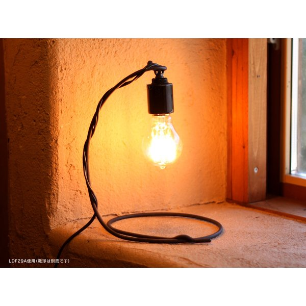 LED電球 E26 フィラメント LED クリア電球 40W相当 500lm 暖系電球色 間接照明 ブルックリン ヴィンテージ レトロ 「Siphon オリジナル」|only1-led|06