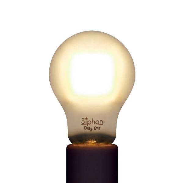 【フィラメントLED電球「Siphon」Frost ザ・バルブ LDF54】 E26 フロスト レトロ アンティーク インダストリアル ブルックリン  間接照明 ランプ only1-led 04