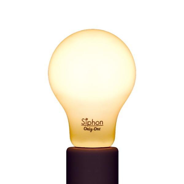 【フィラメントLED電球「Siphon」White ザ・バルブ LDF56】 E26 フロスト レトロ アンティーク インダストリアル ブルックリン  間接照明 ランプ|only1-led|04