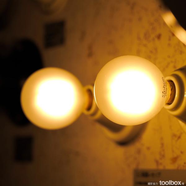 【フィラメントLED電球「Siphon」Frost ボール50 LDF59】 E17 フロスト レトロ アンティーク インダストリアル ブルックリン  間接照明 ランプ|only1-led|07