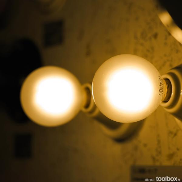 【フィラメントLED電球「Siphon」Frost ボール50 LDF60】 E17 フロスト レトロ アンティーク インダストリアル ブルックリン  間接照明 ランプ|only1-led|07