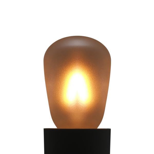【3年保証 フィラメントLED電球「Siphon」ST28 サイン球タイプ LDF77】 E14 フロスト レトロ アンティーク インダストリアル ブルックリン  間接照明 ランプ|only1-led|04