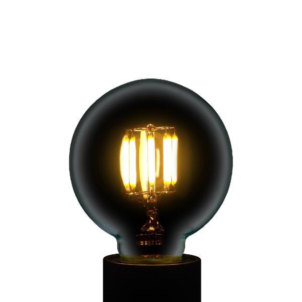 【3年保証 フィラメントLED電球「Siphon」ボール70 LDF87】E26 40W相当 レトロ アンティーク インダストリアル ブルックリン 間接照明 ランプ|only1-led|04