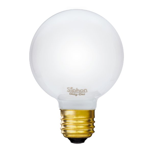 【3年保証 フィラメントLED電球「Siphon」White ボール70 LDF91】E26 40W相当 ホワイト レトロ アンティーク インダストリアル ブルックリン 間接照明 ランプ|only1-led|02
