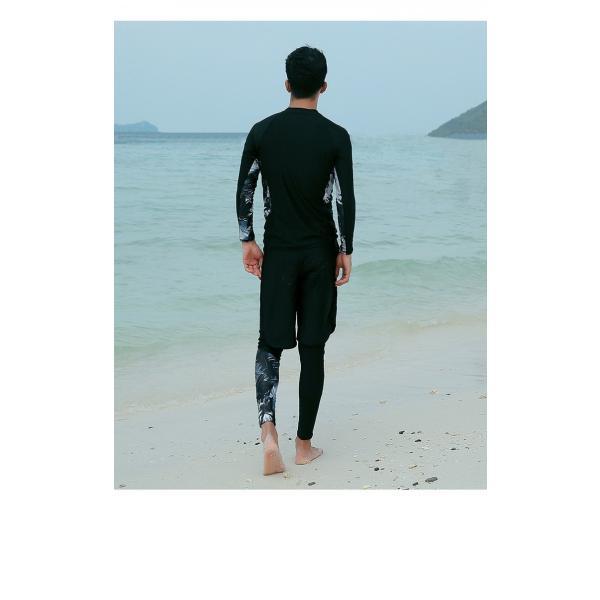 ラッシュガード ペア ペアルック  レディース 上下セット ラッシュガード メンズ 長袖 おすすめ ラッシュガード カップル レギンス ダイビング 水着|onlyotory|12