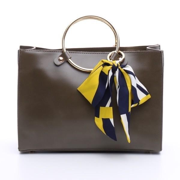 ゴールドリングハンドルバッグ トートバッグ ハンドバッグショルダーバッグ レディース bag