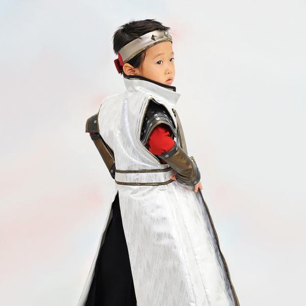 七五三 袴 ブランド/男の子  着物 レンタル 5歳 袴セット 子供  JAPAN STYLE 04-661IM SENGOKU BUSHO|onlyyou|03