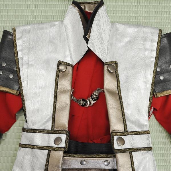 七五三 袴 ブランド/男の子  着物 レンタル 5歳 袴セット 子供  JAPAN STYLE 04-661IM SENGOKU BUSHO|onlyyou|04
