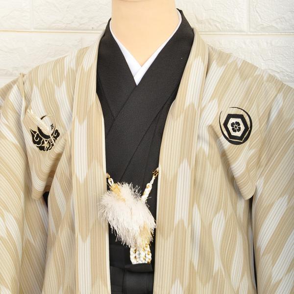 十歳の祝い/1/2成人式/男紋付羽織袴ブランド/ JAPAN STYLE/着物レンタル 10-557IM|onlyyou|02