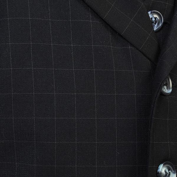男児スーツ B2/七五三/結婚式/パーティー/ピアノの発表会/ チェックスーツ 黒 90cm|onlyyou|05