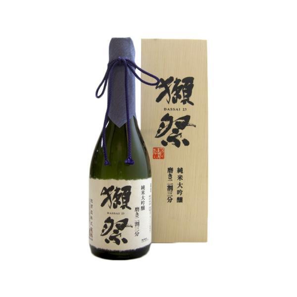 獺祭(だっさい)純米大吟醸磨き二割三分磨き23木箱入り720ml(日本酒/山口県/旭酒造)お酒