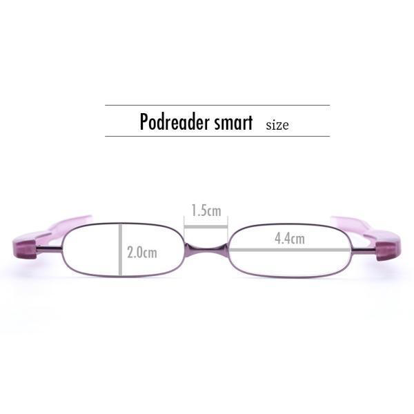老眼鏡 シニアグラス ポッドリーダースマート Podreader smart  全10色 リーディンググラス かっこいい 男性用 おしゃれ 女性用 正規販売代理店|onokonoshop|20