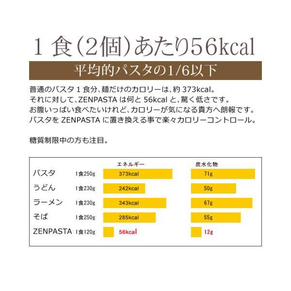[8/27以降の発送]ゼンパスタ 乾燥しらたき こんにゃく麺 ZENPASTA 25g×12個 (セット パック)お試しセットメール便限定 送料無料 onomichi-marukin 05