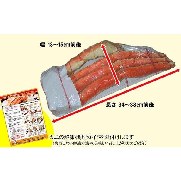 タラバガニ 2kg タラバ 特大タラバ蟹 5L 合計約2kg(正味1.6kg) たらば蟹 /シュリンク 送料無料|onomichi-marukin|04