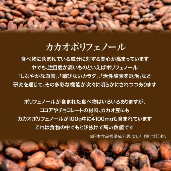 ココアパウダー 無糖 ピュアココア パウダー 純ココア 450g×1袋 無添加 粉末 送料無料|onomichi-marukin|06
