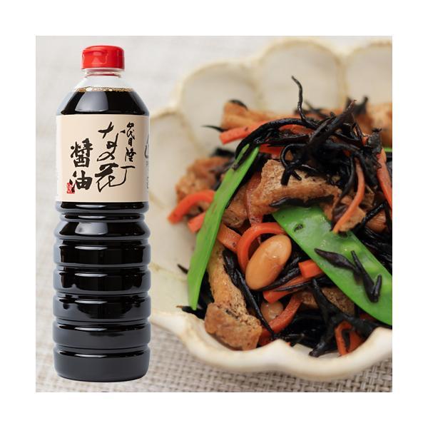 九州醤油 四代目隆一なの花醤油 1L こいくちしょうゆ 混合 国東半島かね松 安永醸造