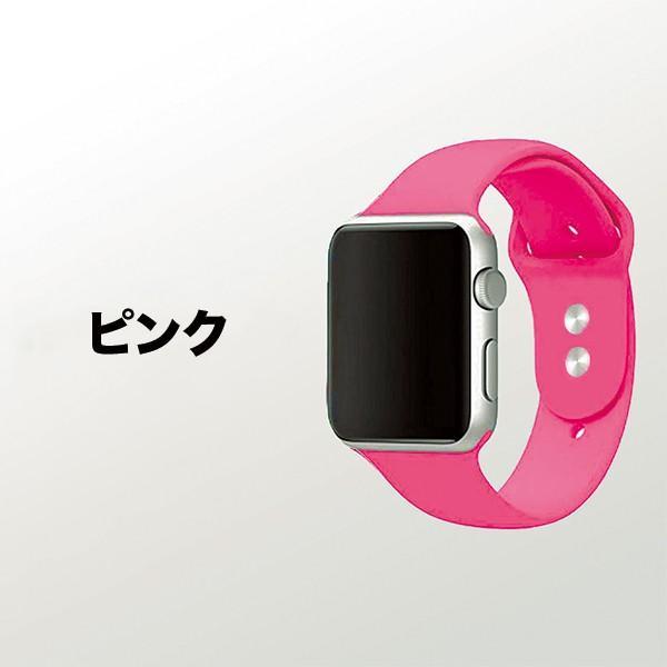 Apple Watch バンド ベルト スポーツ 44mm 38mm series 1 2 3 4 5 アップルウォッチ 人気 おしゃれ ランキング アップル sports 40mm 42mm|ontheedge|14
