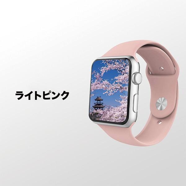 Apple Watch バンド ベルト スポーツ 44mm 38mm series 1 2 3 4 5 アップルウォッチ 人気 おしゃれ ランキング アップル sports 40mm 42mm|ontheedge|06