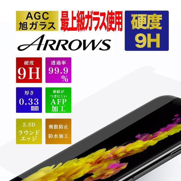 arrows 保護フィルム ガラスフィルム Be3 F-02L U RX SV F-03H M03 Be F-05J M04 F-04K NX F-01J 液晶保護ガラスフィルム フィルム カバー  液晶 硬度9H