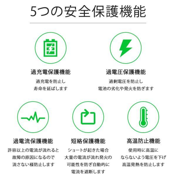 Android Type-C対応 シガーソケット TypeC カーチャージャー 急速充電 タイプCケーブル一体型|oobikiyaking|11